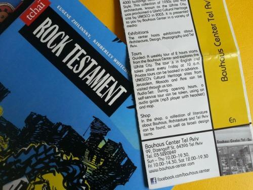 Rock Testament at Bauhaus Gallery